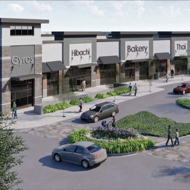 Newark's College Square to be transformed into 'vibrant, walkable' shopping center, apartments
