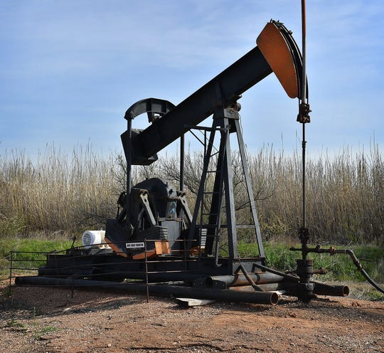 This oil well, Fleming #2 in Kamay, is the oldest producing oil well in the area and was drilled in the mid-1930s. Kamay, Texas is celebrating 100 years of oil in the small town where Kemp, Munger and Allen joined forces and discovered oil in 1919.