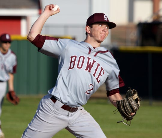 Bowie's Weston Partridge led the Jackrabbits to a Game 3 win Saturday versus Boyd.