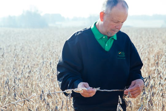 Davie Stephens, president of ASA and a soybean grower from Clinton, Ky., says soybean growers are tired of being collateral in trade war.