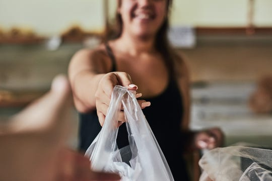 New York's ban on single use plastic bags goes into effect in March 2020.