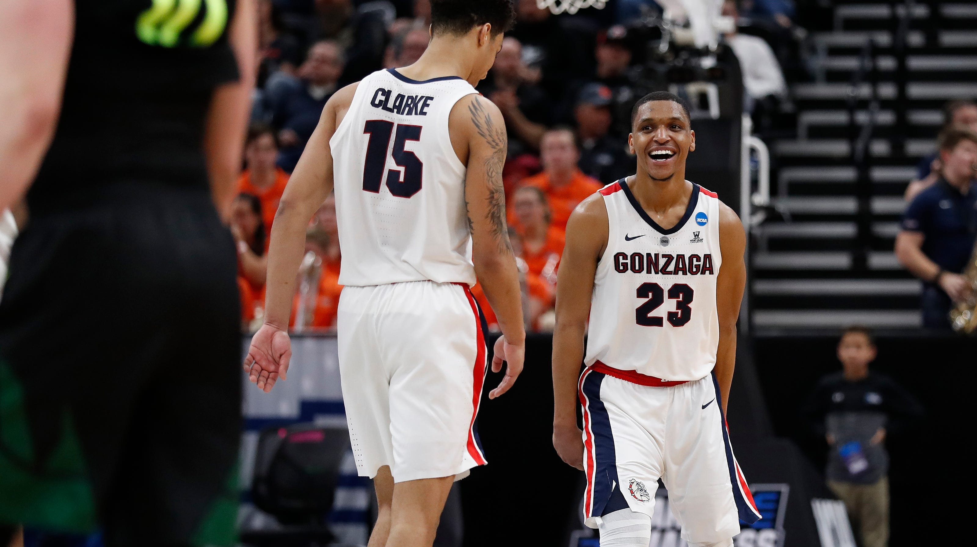 Brandon Clarke Gonzaga Bulldogs Basketball Jersey-Navy