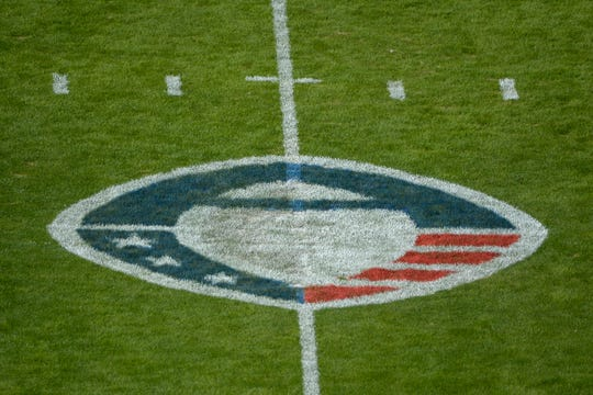 A general view of the AAF logo.