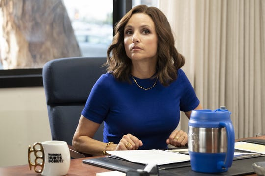 """When """"Veep"""" premiered on HBO in 2012, """"there wasn't another character like this on television,"""" Julia Louis-Dreyfus says of selfish politician Selina Meyer."""