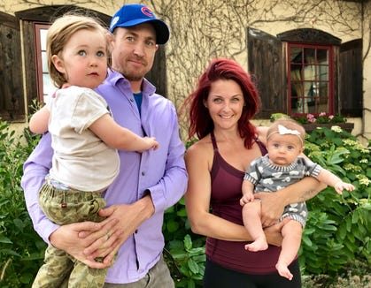 Jenelle Wexler and her family.