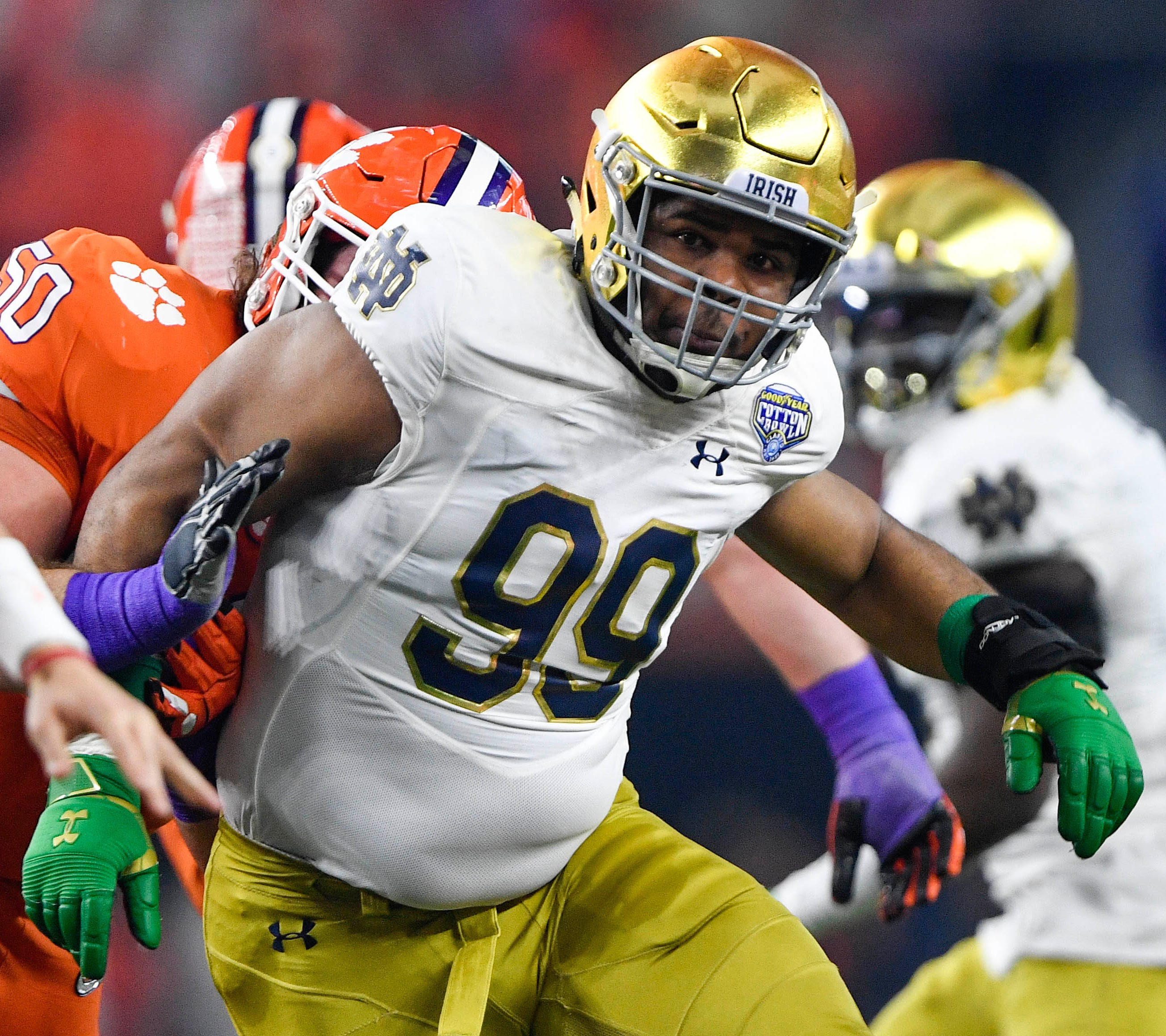 Jerry Tillery was a standout at Evangel Christian Academy before a stellar career at Notre Dame.