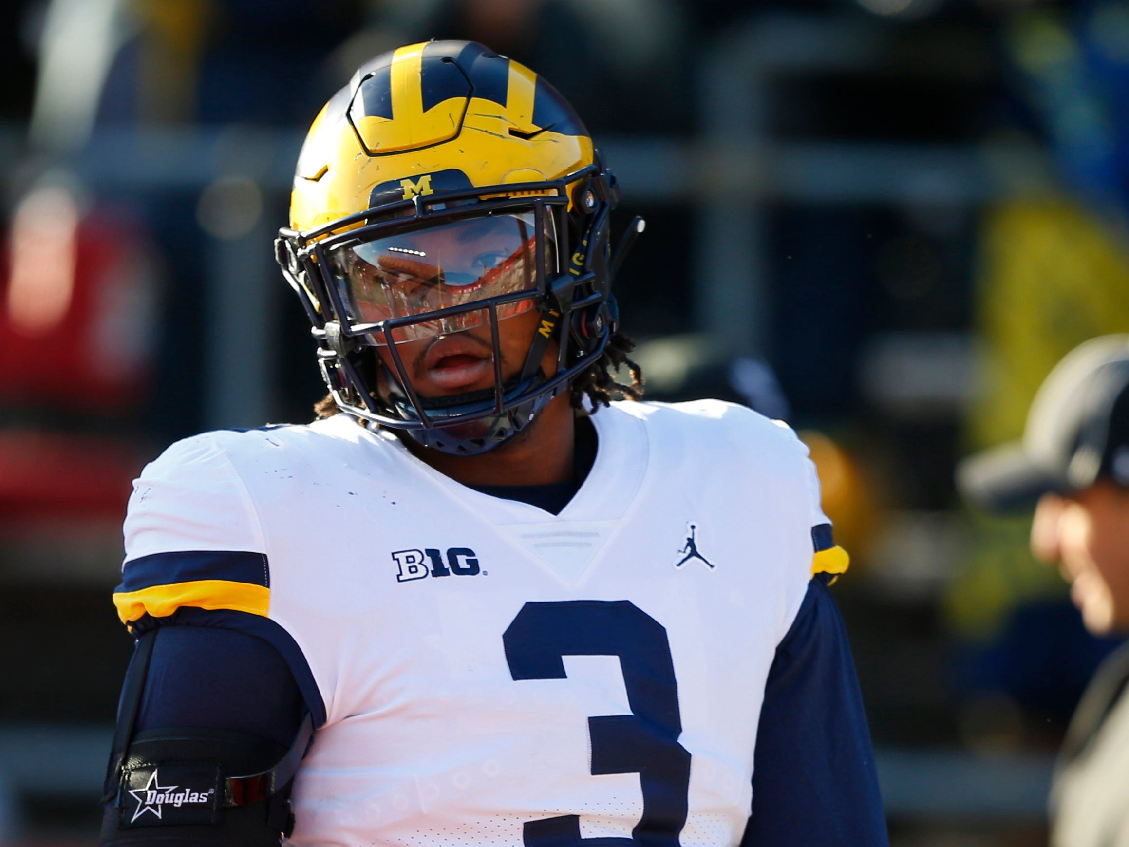 6. Giants - Rashan Gary, DE, Michigan: