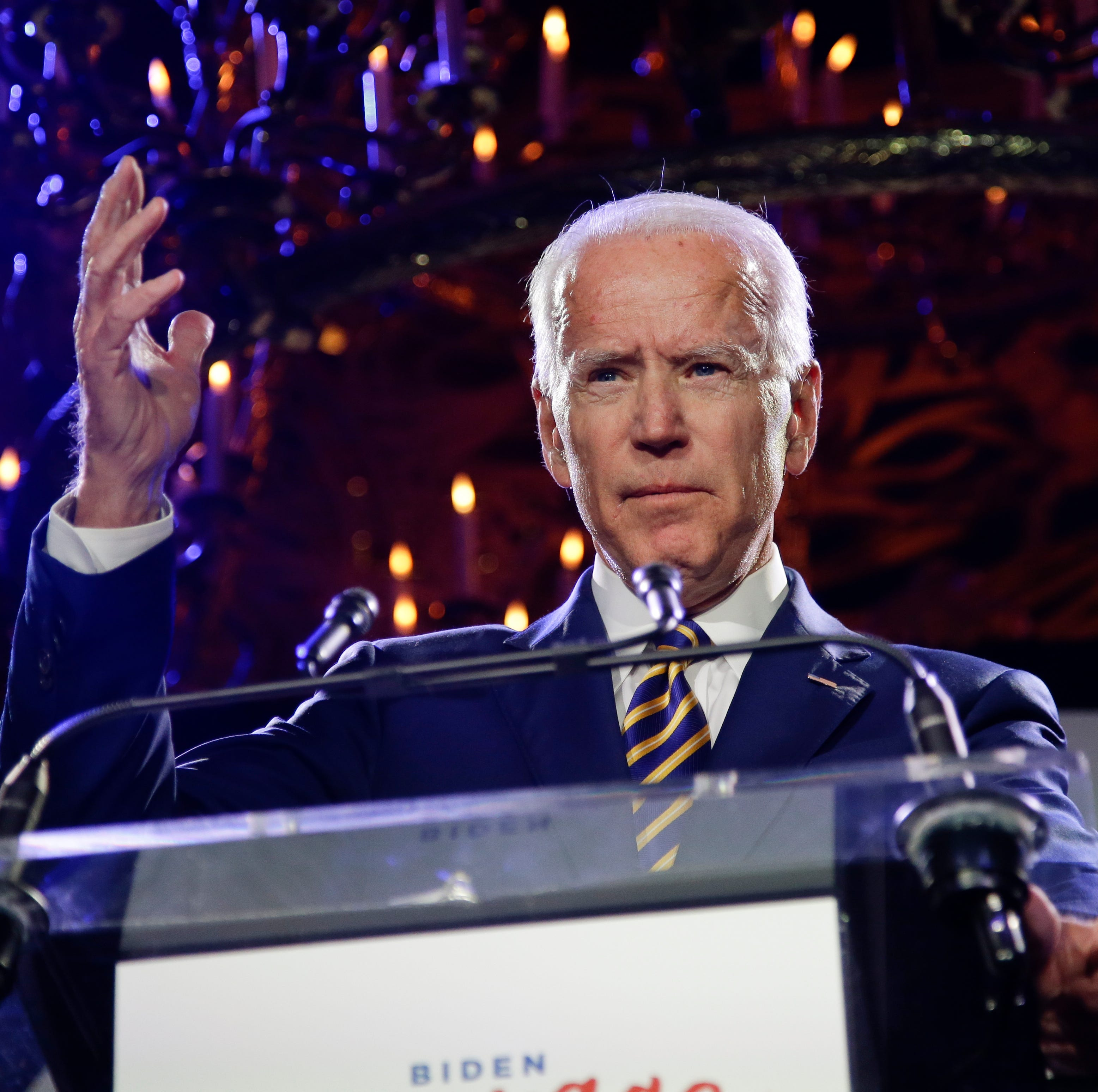 Joe Biden accused of kissing former Nevada lawmaker, an allegation he doesn't recall