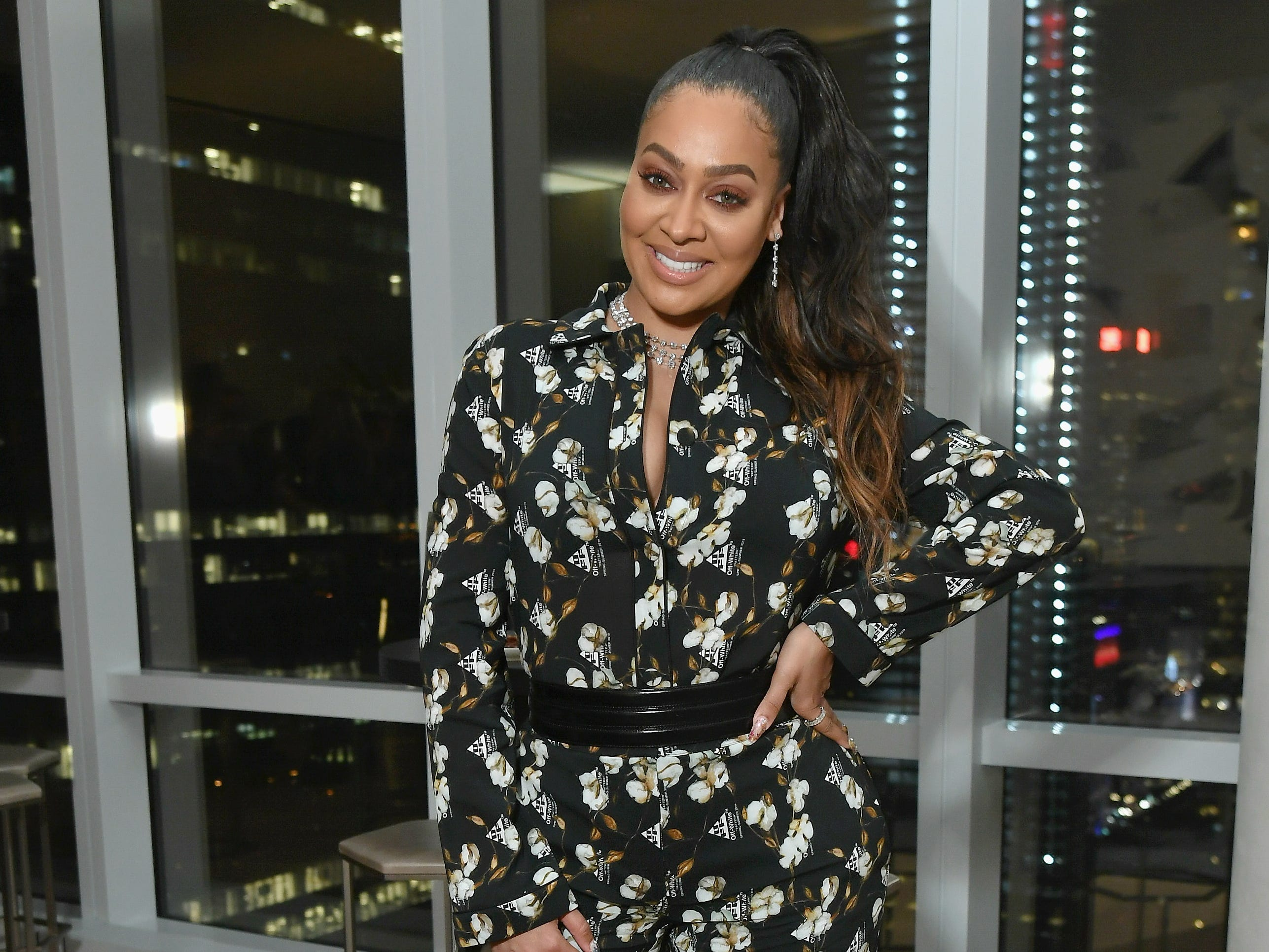 NEW YORK, NY - MARCH 13:  LaLa Anthony attends the InStyle Dinner to Celebrate the April Issue Hosted By Cover Star Ciara and Laura Brown on March 13, 2019 in New York City.  (Photo by Mike Coppola/Getty Images for InStyle) ORG XMIT: 775304838 ORIG FILE ID: 1130326368
