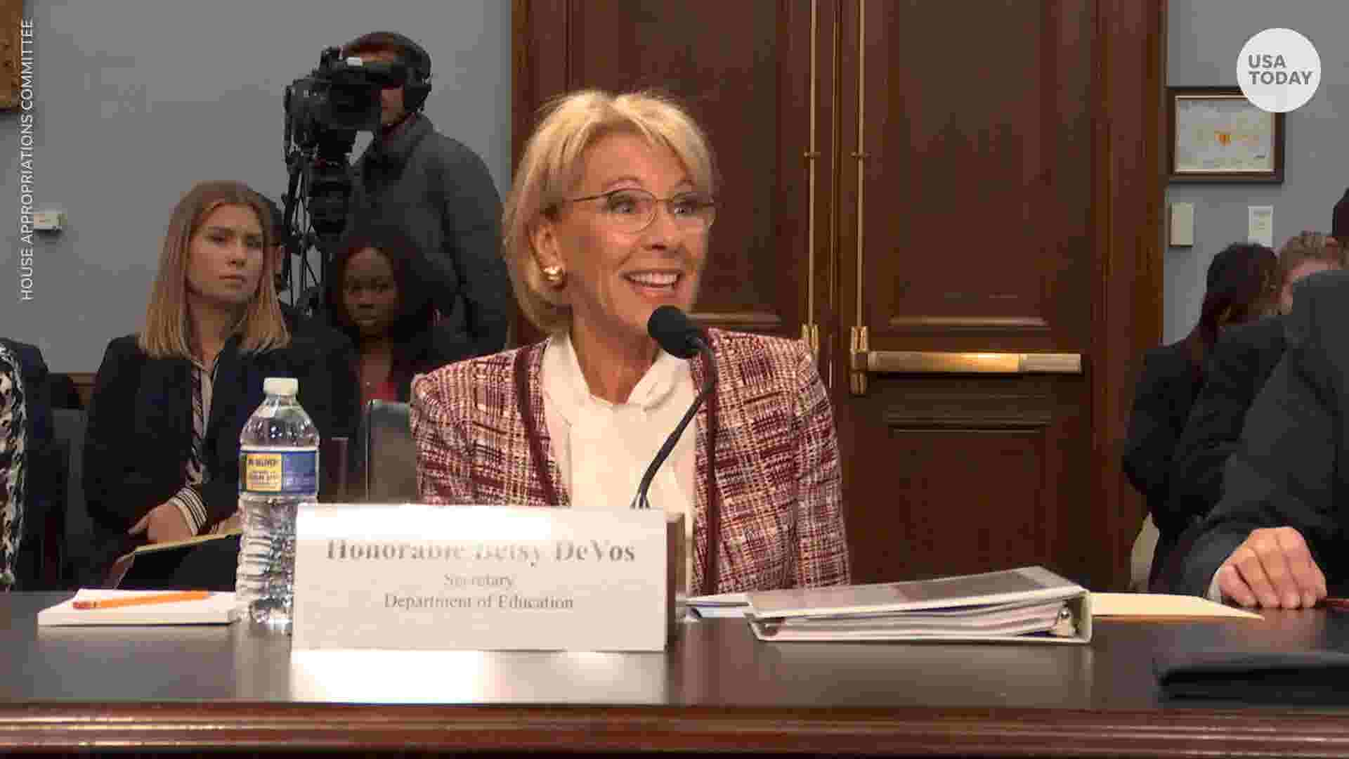 What Texas Did To Its Special Education >> Betsy Devos Defends Budget Cuts To Special Olympics Special Education Programs