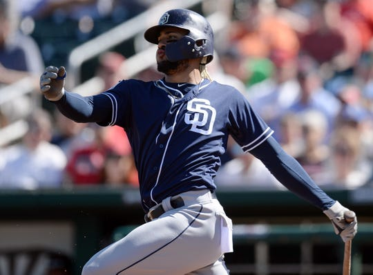 Fernando Tatis Jr. hit .286/355/.507 with 16 homers and 16 stolen bases in 88 games last season at Class AA -- at the age of 19.