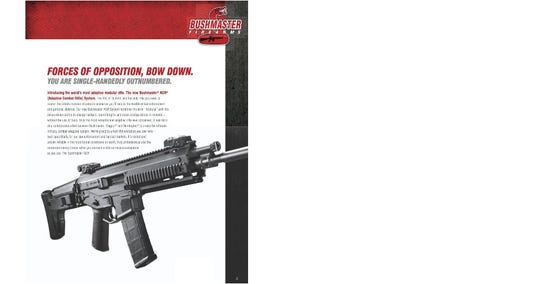 Gun control advocates set their sights on AR-15 advertising