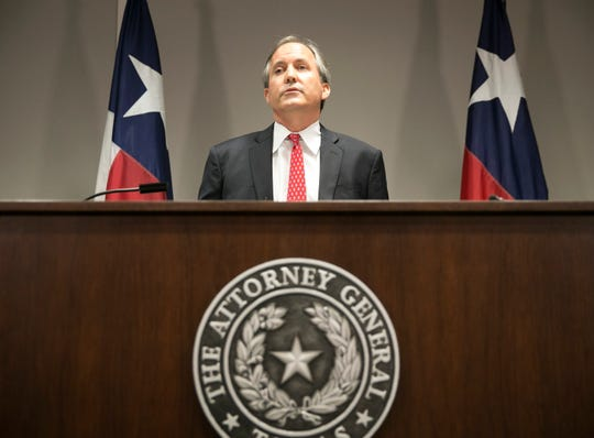 Republican Texas Attorney General Ken Paxton