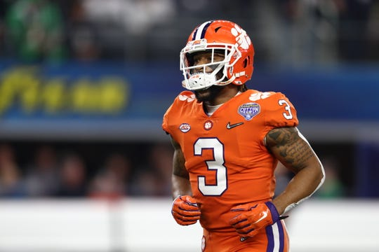 Clemson Tigers receiver Amari Rodgers will likely miss the upcoming college football season due to a torn ACL.