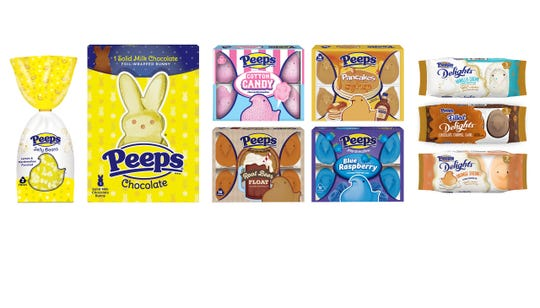 Peeps has a new line of products ahead of Easter.