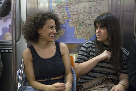 "Ilana Glazer, left, and Abbi Jacobson in the first season of ""Broad City,"" which they adapted from their web series of the same name."