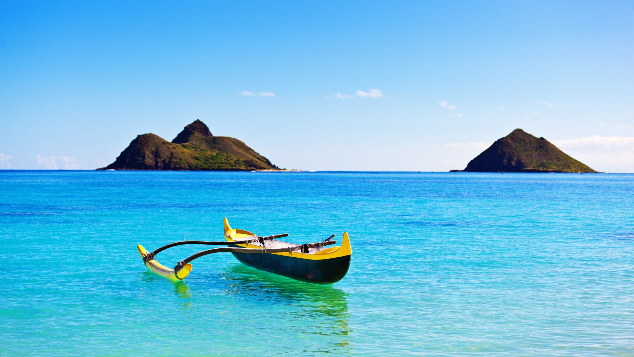 Lanikai Beach, Hawaii.