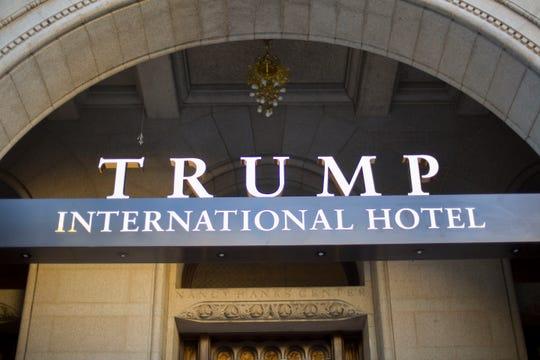 Trump International Hotel in downtown Washington on Sept. 12, 2016.