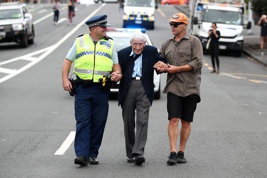 Christchurch Massacre Detail: John Sato, 95, Took 4 Buses To Rally After New Zealand