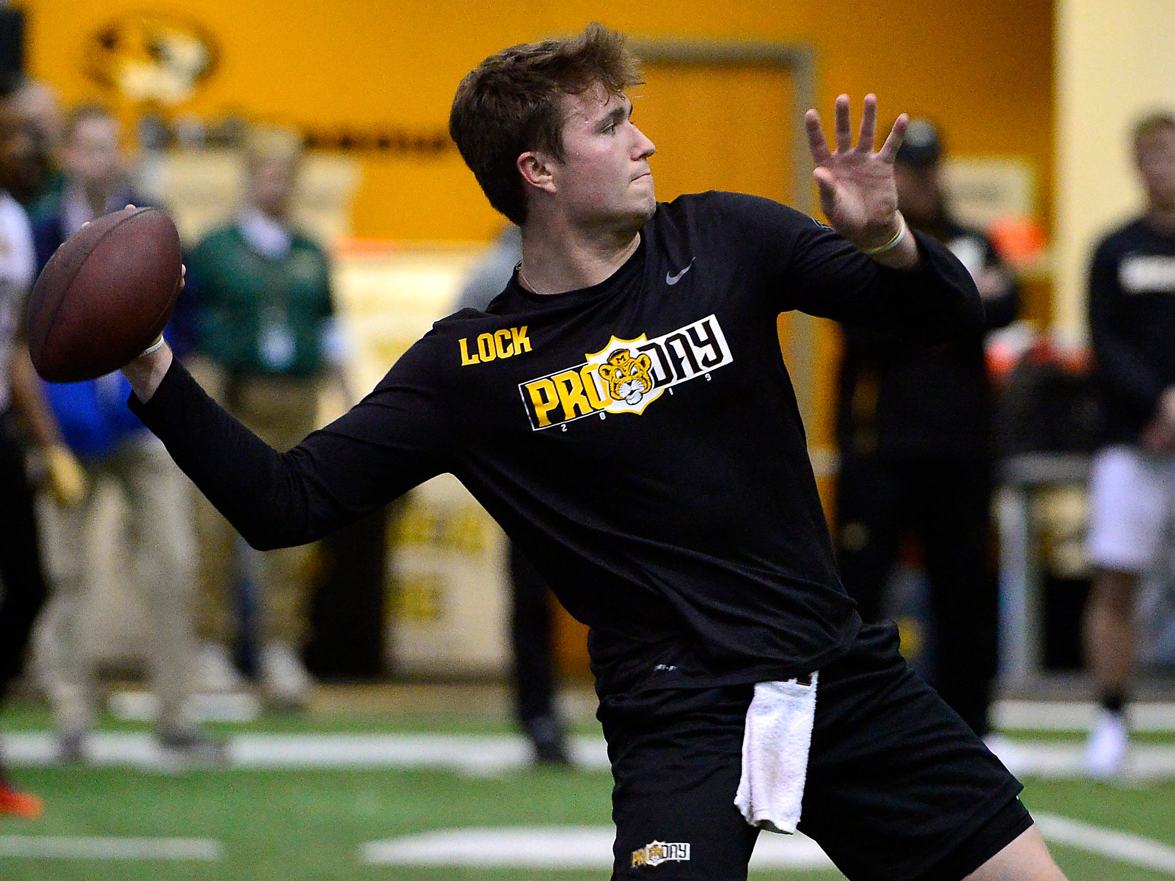 17. Giants (from Browns) - Drew Lock, QB, Missouri