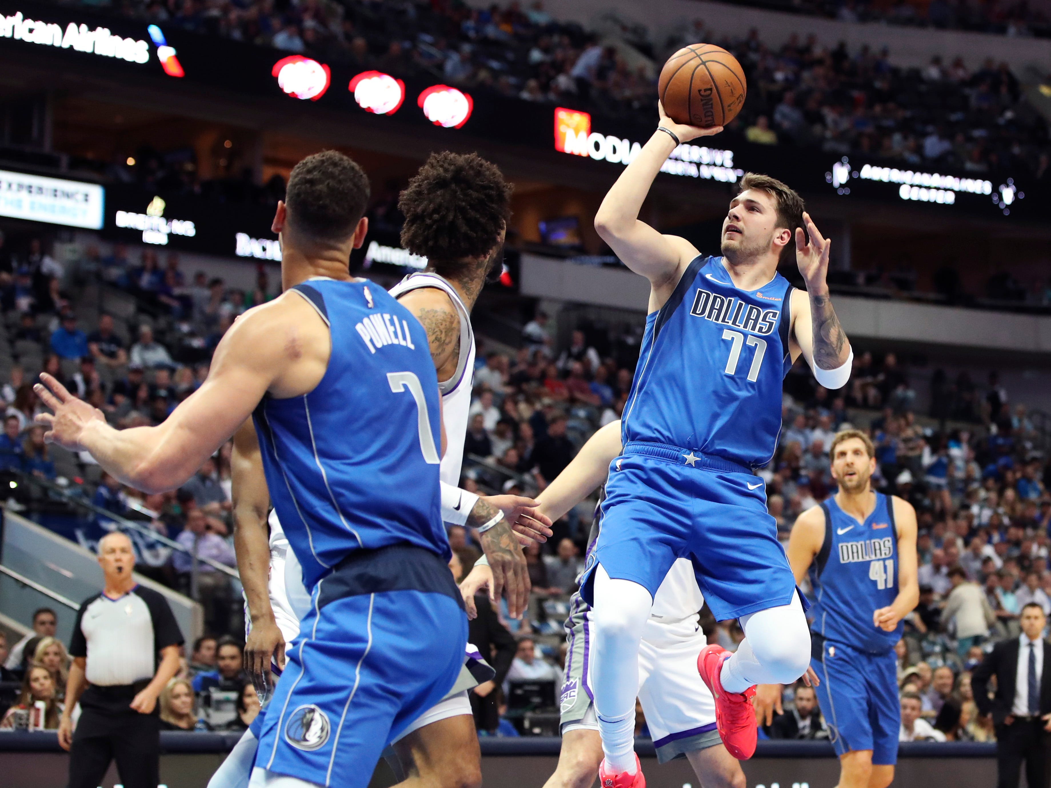 109. Luka Doncic, Mavericks (March 26): 26 points, 12 rebounds, 12 assists in 125-121 loss to Kings.