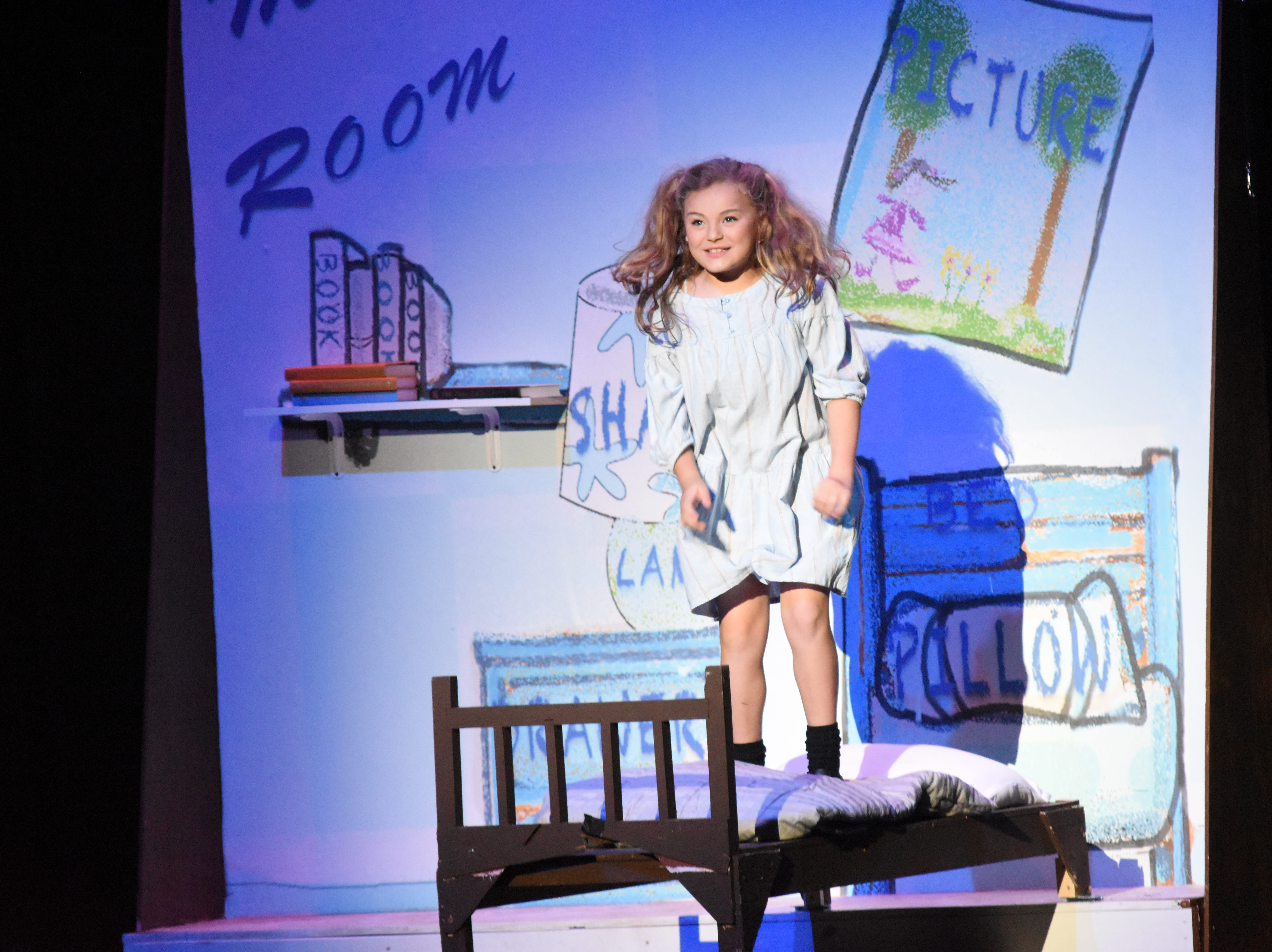 """Lagniappe Theatre Company is presenting """"Matilda the Musical"""" based on the book by Roald Dahl at 7 p.m. Thursday, Friday and Saturday and at 2:30 p.m. Sunday at the Coughlin Saunders Performing Arts Center in downtown Alexandria. Starring in the title role are Evie LaFleur and Chloe Lair. """"Matilda the Musical"""" is the story of an intelligent young girl who is born into an unloving family. She is sent away to school where her kind schoolteacher is impressed with her. The school's headmistress, however, doesn't like children doles out cruel punishments for those who break her rules."""