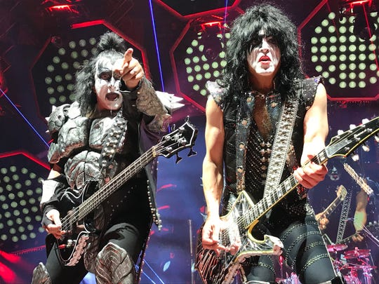 "The Kiss ""End of the Road"" tour show March 27, 2019 at Madison Square Garden in New York City."