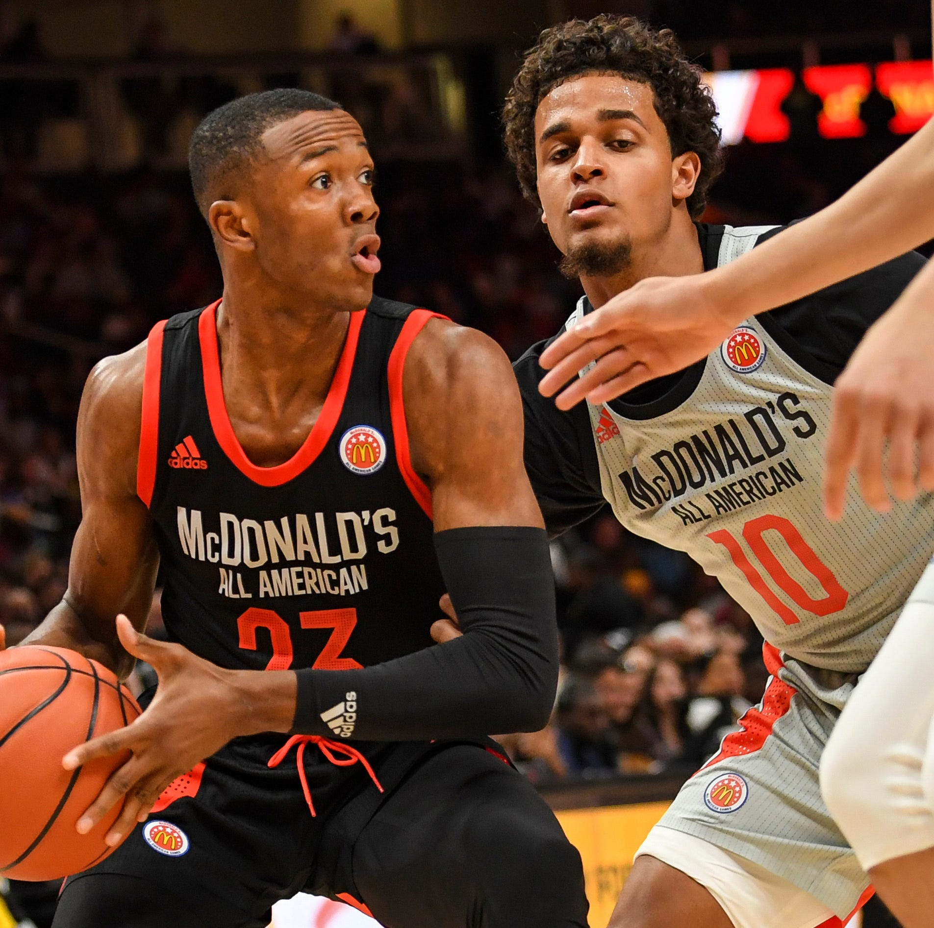 McDonald's All-American Game: For a moment, Scottie Lewis and Bryan Antoine were opponents