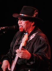 Billy Cox, bass player with Jimi Hendrix in Band of Gypsies and The Jimi Hendrix Experience, performs on stage with the 2010 tribute tour Experience Hendrix.