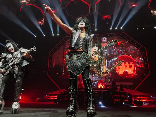 """The Kiss """"End of the Road"""" tour show March 27, 2019 at Madison Square Garden in New York City."""