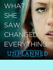 """Unplanned"" movie poster"