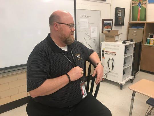 Abilene High School English teacher James McGee.