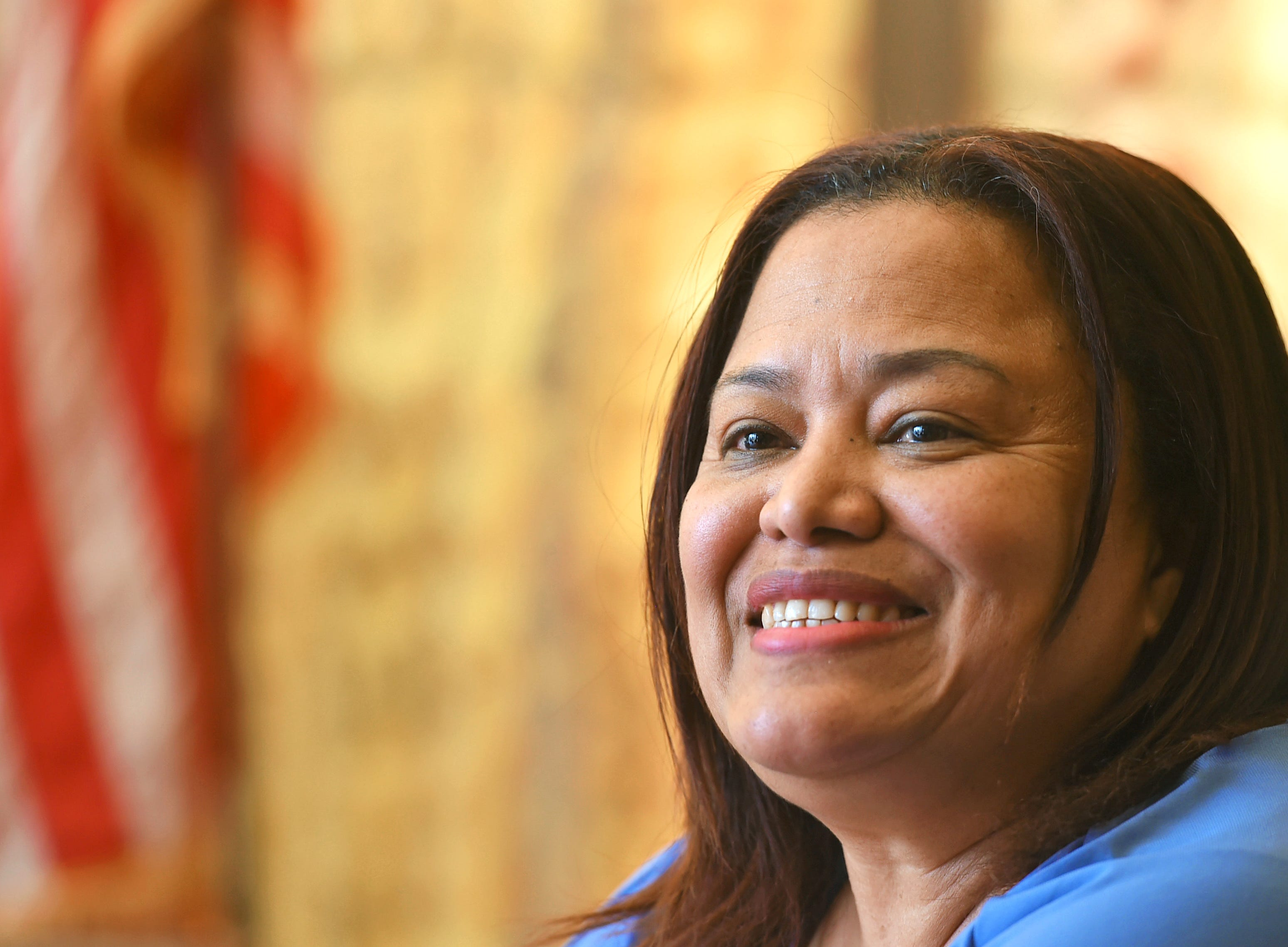 Mayra Garcia, executive director and CEO of the American Civic Association, has been with the organization since soon after the 2009 mass shooting, first as a volunteer, then as a employee. She is looking to expand the services of the organization and welcomes the Binghamton community to learn more about the ACA.