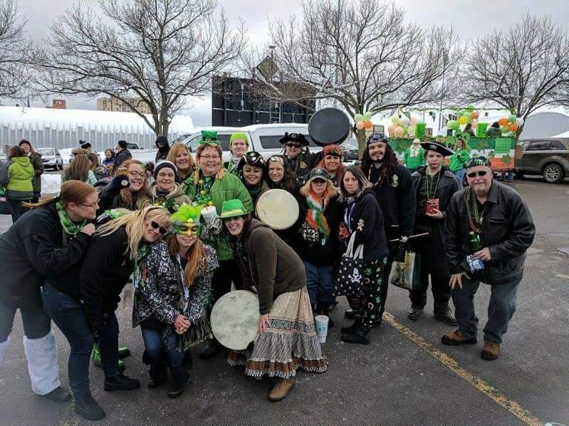 Scenes of Susquehanna Pirate Kazoo Band