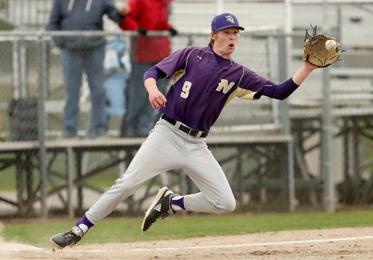 North Kitsap's Chris Schuchart was one of the Vikings' top performers as a junior and hopes to play baseball in college.