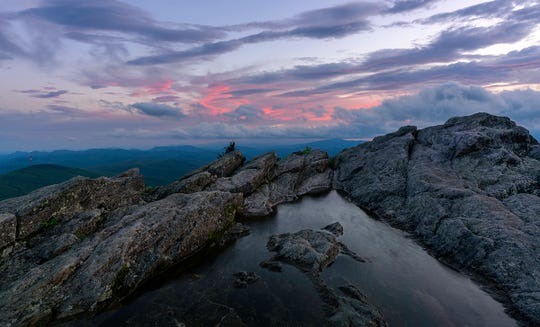 Sunset on Grandfather Mountain offers a cascade of colors to delight photographers of all skill levels. The park's annual Nature Photography Weekend returns May 31 to June 2, offering participants the rare opportunity to camp on the mountain and observe Grandfather's wonders before and after regular business hours.