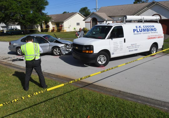 Thursday morning hit and run on Jamestown Drive in the Pineland Park neighborhood led to a massive manhunt as Rockledge Police and BCSO teamed up to find and arrest the suspect on Berkshire Drive. The man he hit, an employee of E.K. Coggin Plumbing, was pinned between two vehicles, but is expected to recover.