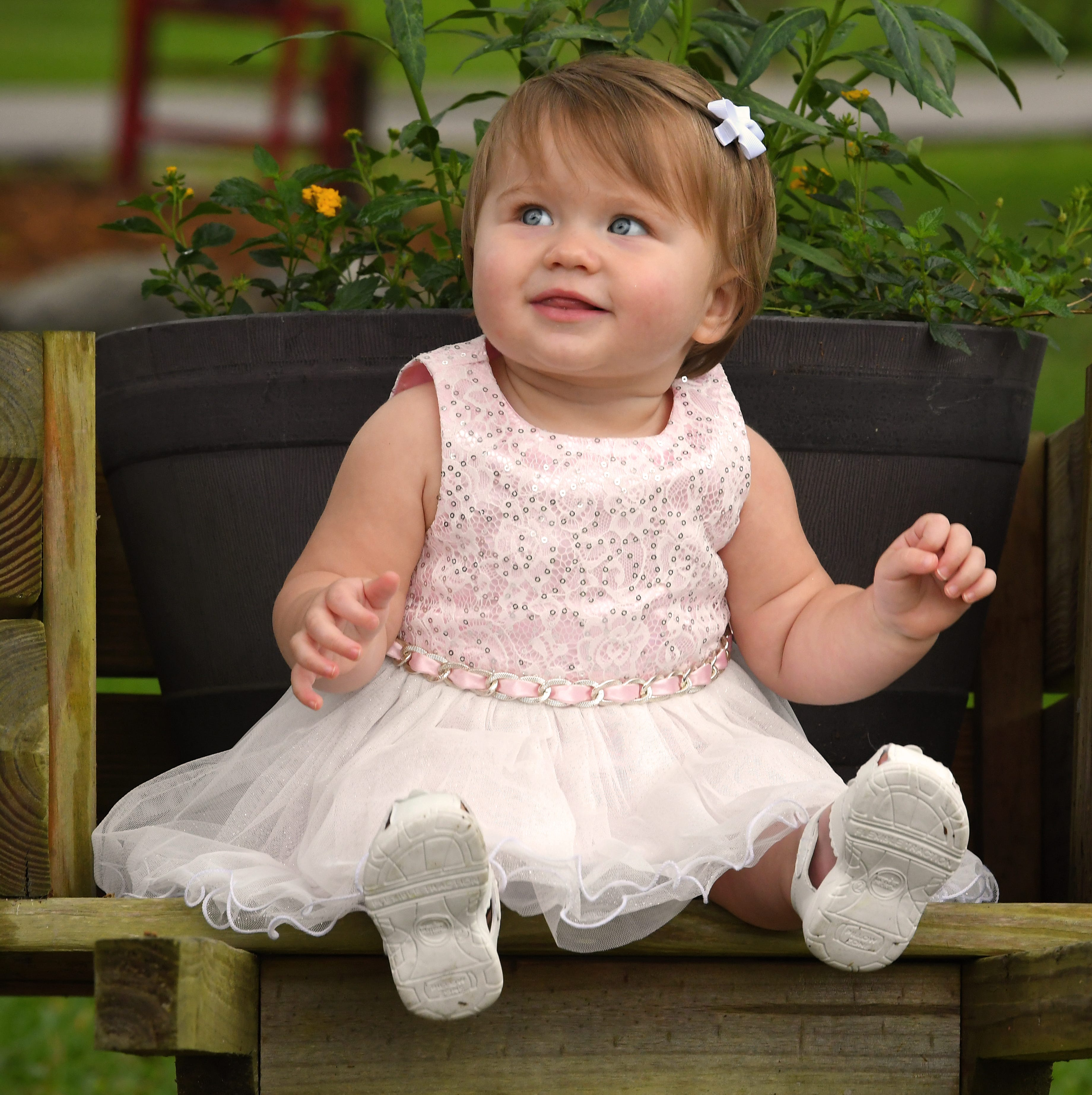 Raelyn, 10 months, is the April Child of the Month