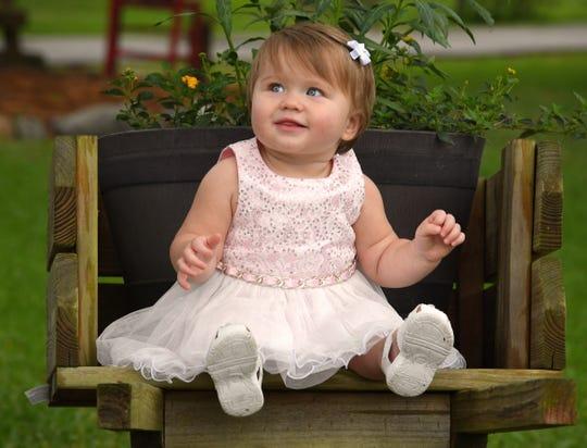 Raelyn Parker is the Space Coast Parent child for April 2019.