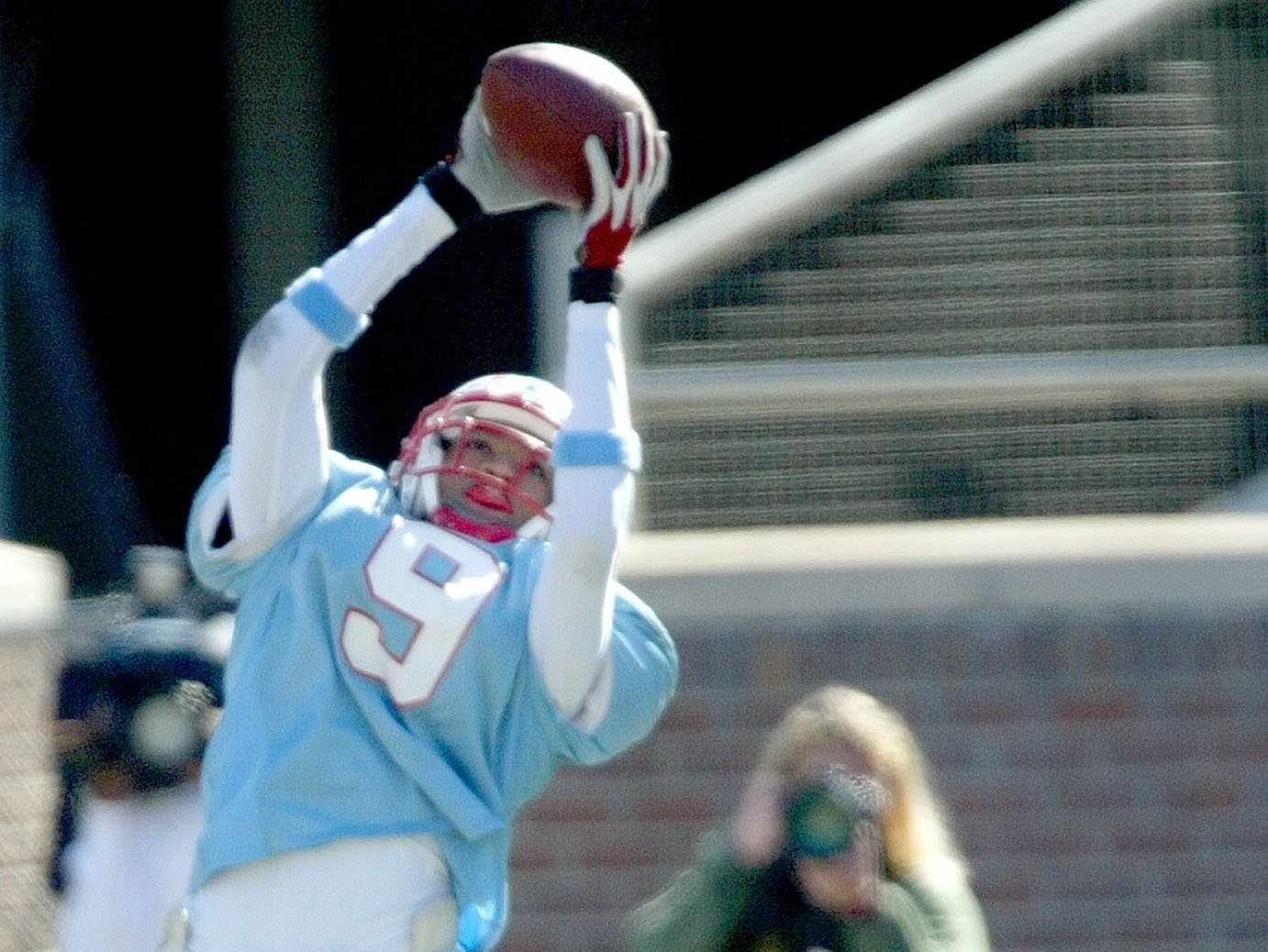 Laurent Robinson of Rockledge High was drafted by the Atlanta Falcons in the third round of the 2007 NFL Draft.