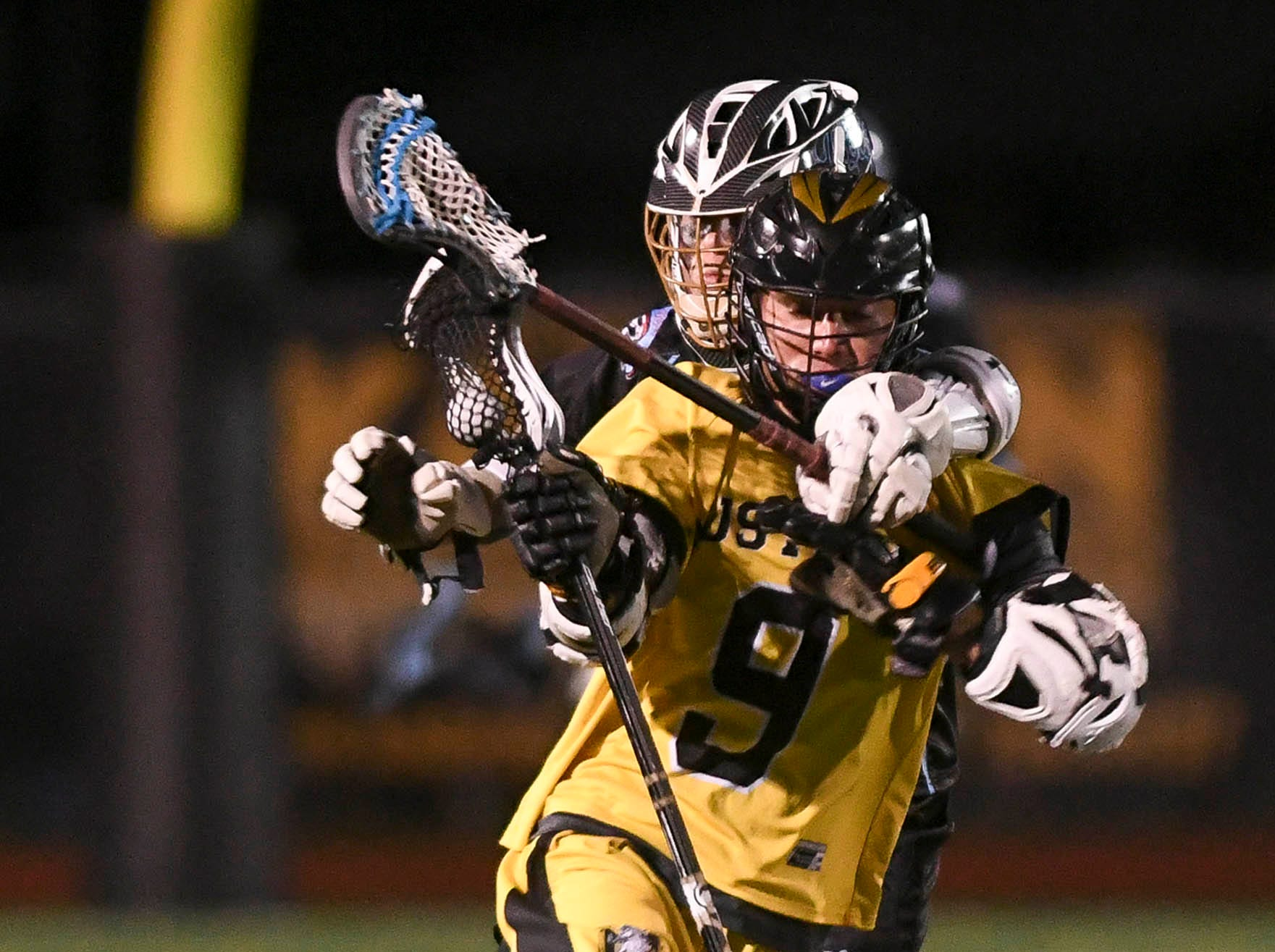 Nick Sidor of Merritt Island is chased by Hayden Knight of Rockledge during Wednesday's game.