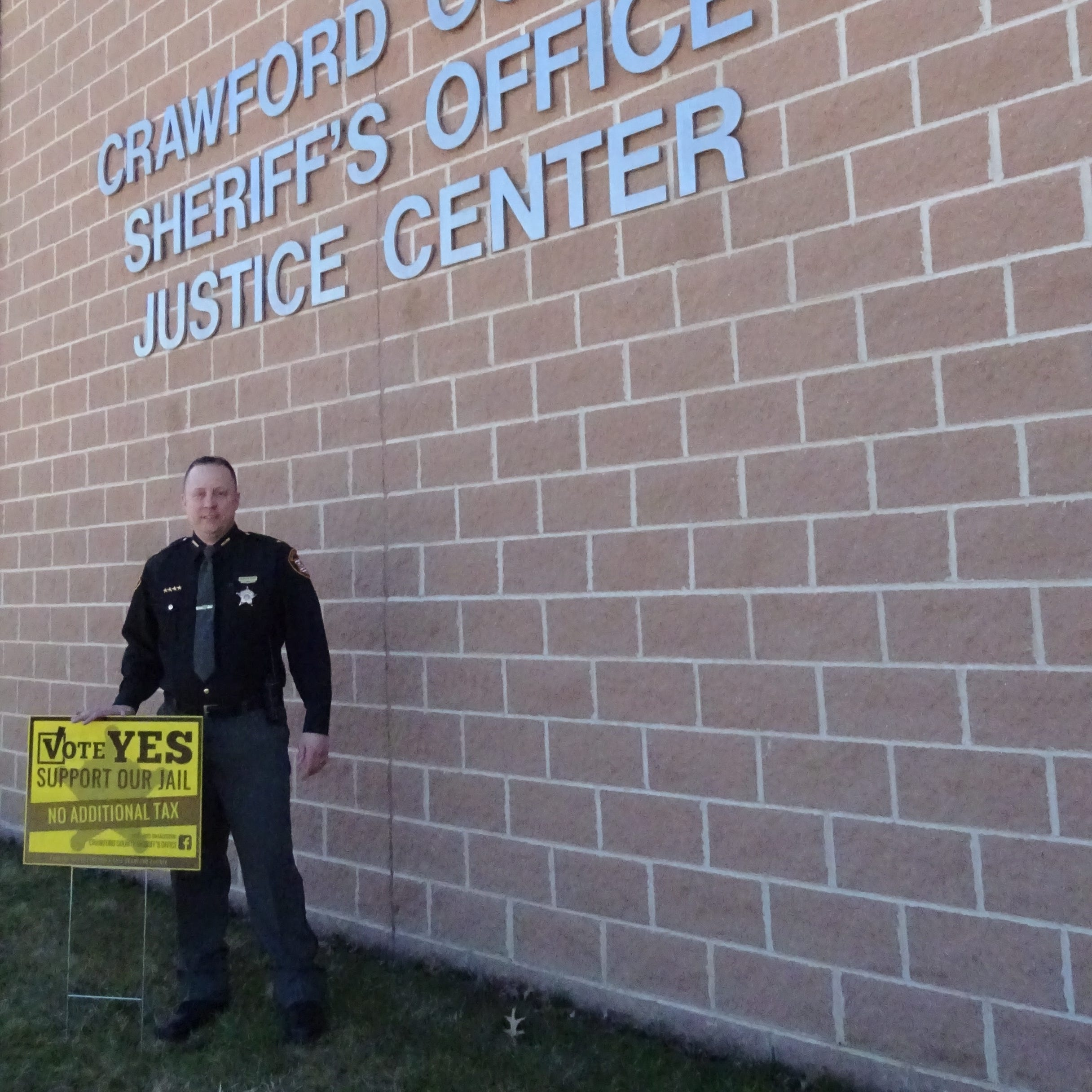Crawford County Jail tax overwhelmingly approved