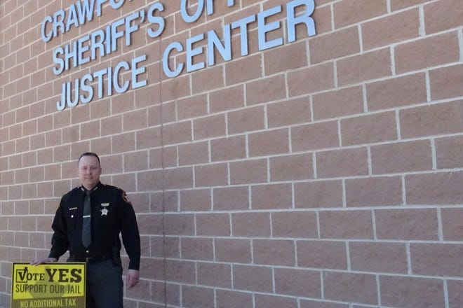 If the proposed 0.5 percent sales tax to support jail operations is approved by voters in May, the amount people pay when they make purchases will not change, said Crawford County Sheriff Scott Kent.