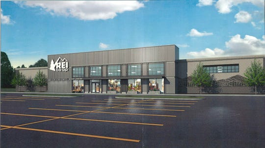 Another view of the REI store planned for Williston in the old Toys R Us space.
