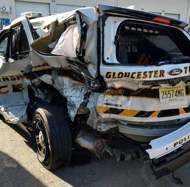 Driver faces DUI charges after Gloucester Twp. officer struck on AC Expressway