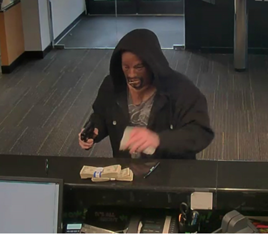West Deptford Police are looking for a man who allegedly help up a TD Bank on Route 45 March 25, 2019.