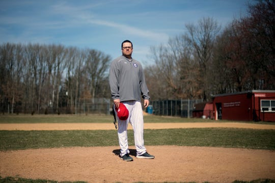 Cherry Hill West coach Dan McMaster Wednesday, March 27, 2019.