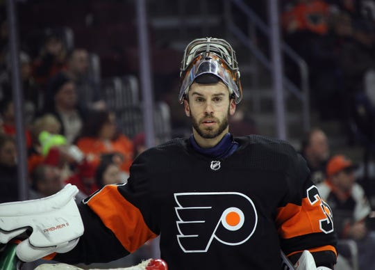 Cam Talbot has allowed four goals on 49 shots in two appearances with the Flyers.