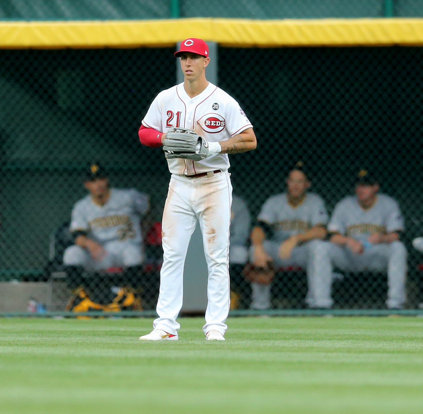 Michael Lorenzen in center  field is no 'little gimmick' for the Cincinnati Reds