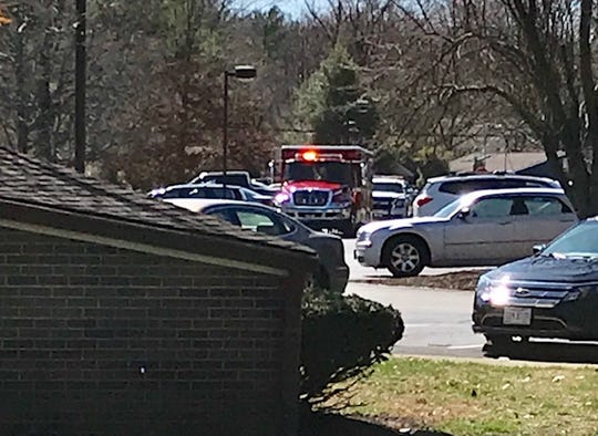 A Milford fire truck and police vehicle are dispatched to SEM Terrace. In 2017, fire and EMS runs to SEM Terrace and three adjoining SEM Retirement Communities campuses totaled just over 26 percent of 2,398 runs citywide.
